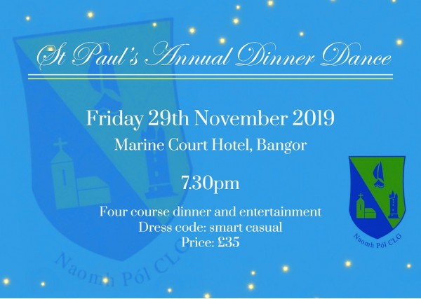 St Paul's Annual Dinner Dance